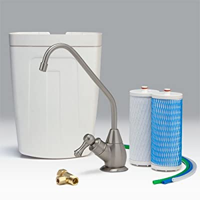 Aquasana AQ4501 Drinking Water Filter System (Nickel Finish)