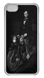Biker Lincoln Custom iPhone 5C Case Cover Polycarbonate Transparent