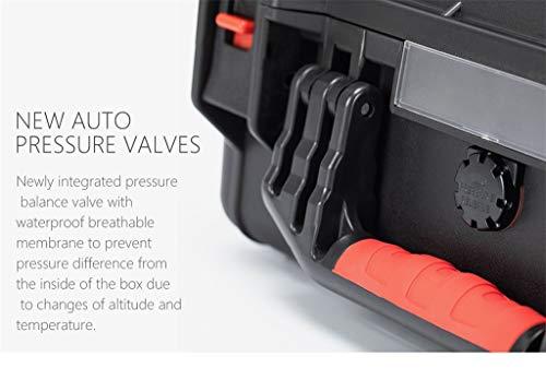 MOZATE PGYTECH Hardshell Shockproof Case Box Suitcase Bag for DJI Mavic 2 &Smart Controller (Black) by MOZATE (Image #7)