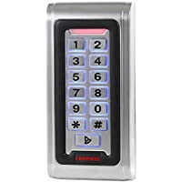UHPPOTE Waterproof IP68 Metal Case RFID ID Keypad Single Door Stand-alone Access Control & Wiegand 26 bit I/O