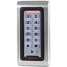 UHPPOTE Waterproof IP68 Metal Case RFID ID Keypad Single Door Stand-alone Access Control & Wiegand 26 bit I/O