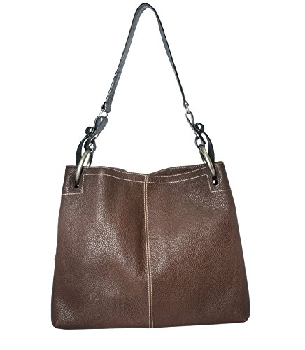 SZ Collection Pretty Bag Floater (Chocolate and Black)