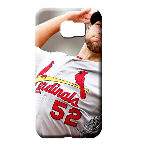 Louis Cardinals Mlb Pattern - Pattern First-class Hot Style Michael Wacha Cell Phone Carrying Shells Samsung Galaxy S6