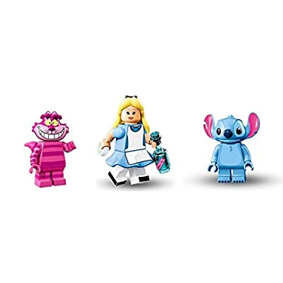 LEGO Alice in Wonderland, Shesher Cat, Stitch Minifigures Disney Figures: Toys & Games