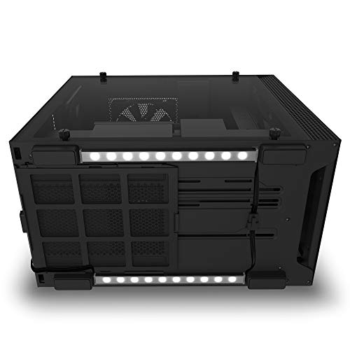 NZXT Underglow Accessory, AH-2UGKK-A1, Two 300mm RGB LED Strips, 15 LEDs Per Strip, CAM-Powered, Immersive Desktop Lighting System