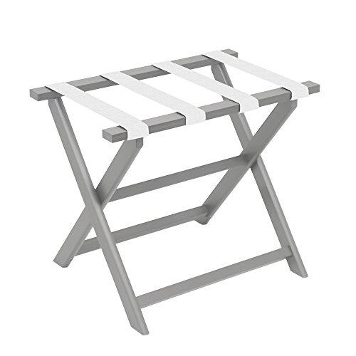 Gate House Furniture Light Grey Straight Leg ECO Folding Lug
