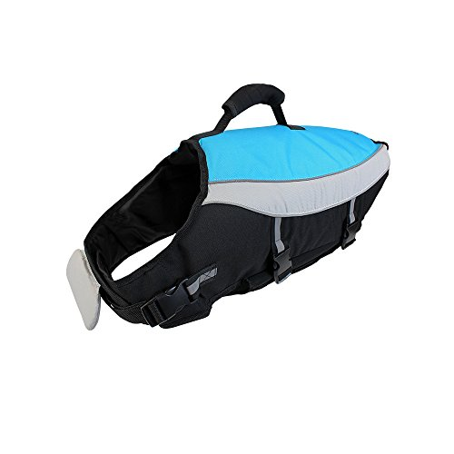 Flexi Alcott Mariner Life Jacket, Large, Blue with Reflective Accents ()