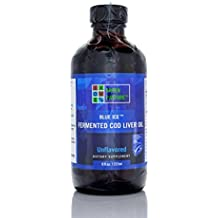 Green Pastures Blue Ice Fermented Cod Liver Oil (Non-flavored 8 fl oz.)