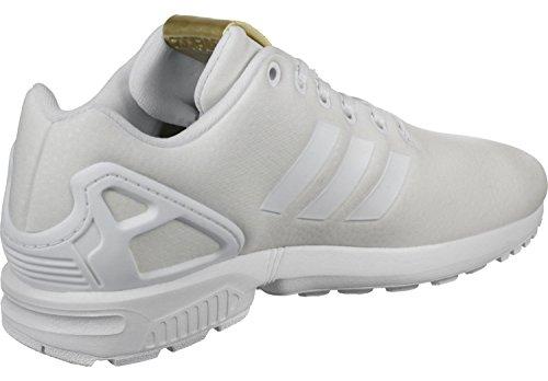adidas Zx Flux W, Zapatillas de Deporte para Mujer Blanco (Ftwbla / Ftwbla / Dormet)