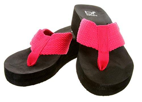 Belts.com Kvinners Eva To Flip-flop Sandal (fuchsia, 9)