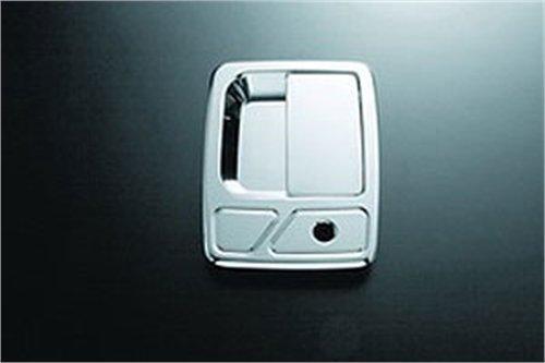 All Sales 511 Polished Billet Aluminum Door Handle and Bucket (Door Handle Bucket Kit)