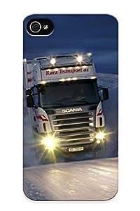 1e221973706 Walkintherain Scania R500 Durable Iphone 4/4s PC Flexible Soft Case With Design WANGJING JINDA