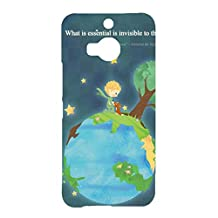 Htc One M9 Plus Cover,Le Little Prince Quotes Phone Case Unique Custom Animation Movies The Little Prince Le Petit 3D Protect Case Cover