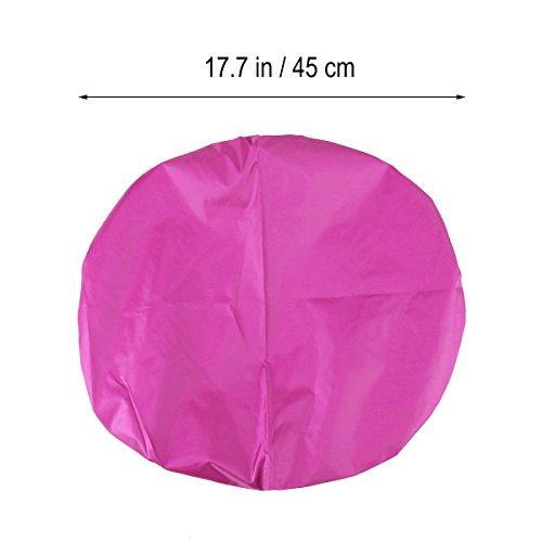 LEDMOMO Wasserdichte Rucksack Regen Abdeckung Rucksack Regendicht Abdeckung für Wandern Camping Reisen 35L (Rose Red)