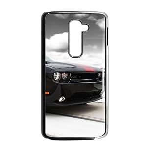 LG G2 Cell Phone Case Black Dodge mnh