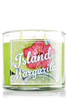 (Bath & Body Works Candle 3 Wick 14.5 Ounce Island Margarita)
