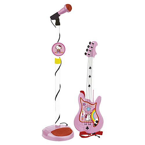Reig/hellokitty - 1494 - Set Guitare Et Micro - Hello Kitty