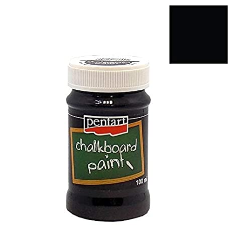 Zitas Creative - Pintura para Pizarra (100 ml), Color Negro ...