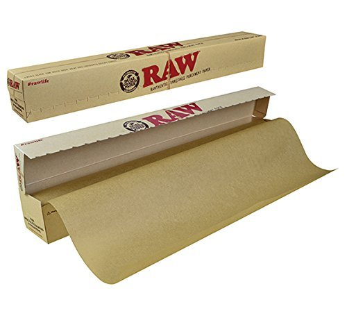 RAW Unrefined Parchment Paper Roll 400mm x 15m (Teflon Cooking Spray compare prices)