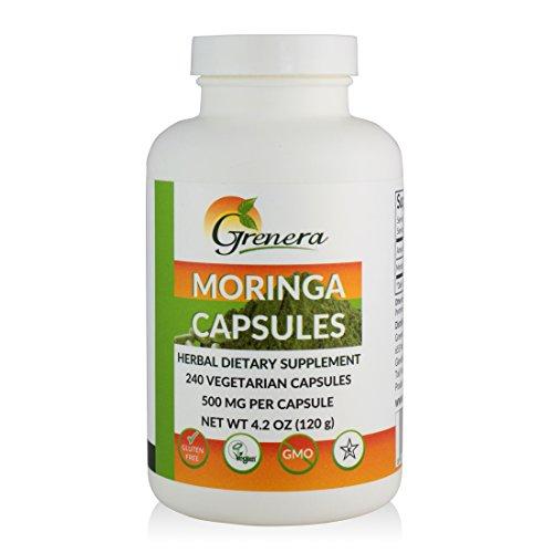 Grenera Organic Moringa Capsules Oleifera product image