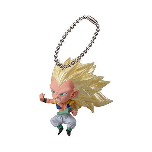 Dragon Ball Z UDM Burst 09 SS3 Gotenks Figure Keychain ()
