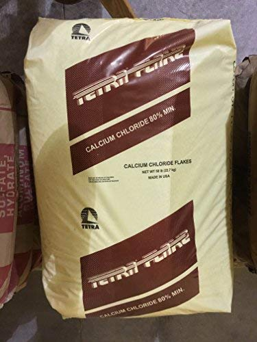 Calcium Chloride Flakes 2 pounds in Bottles