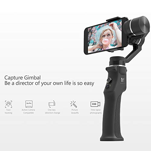 Wikiwand Funsnap Capture 3-Axis Smartphone Selfie Handheld Gimbal with Cam Adapter by Wikiwand (Image #3)