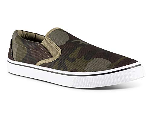 Influence Men's Gore Slip-On Casual Sneaker, CAMO, Size 9