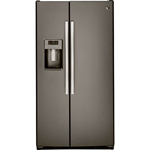 GE GSS23GMKES 22.5 Cu. Ft. Slate Side-By-Side Refrigerator