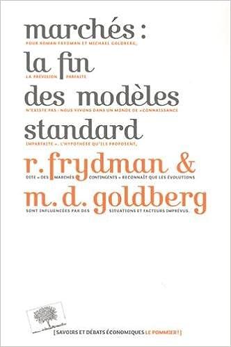 En ligne téléchargement gratuit Marchés : la fin des modèles standard epub, pdf