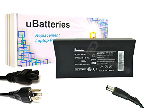 UBatteries Slim Power Adapter Charger Dell Vostro V13 M582J 0M582J OM582J M585J 0M585J OM585J MK911 0MK911 OMK911 330-3614 330-3615 330-4279 - 130W, 19.5V