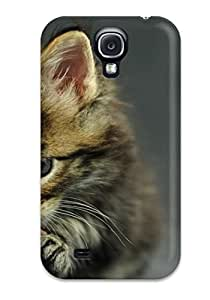 Fashion Protective Download Image Funny Cat Oracle Maine Coon Kitten Cats Case Cover For Galaxy S4