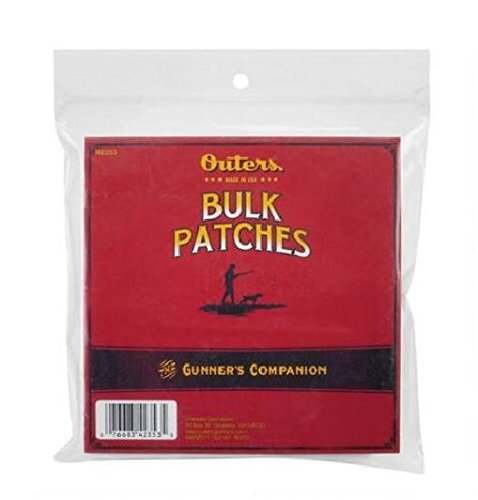 Outers .30-.45 Caliber Synthetic Patches, 300 Count Outers Gun Cleaning Supplies