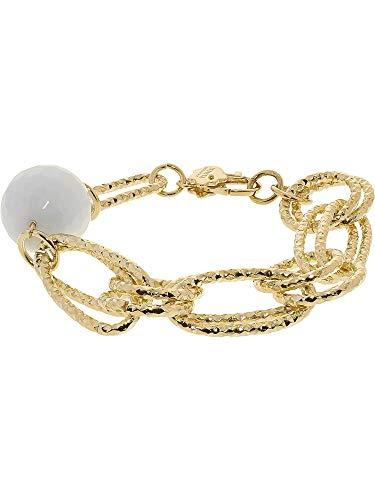 Bracelets Invicta Gold (Invicta Women's Curiosa Chain Bracelet - 8
