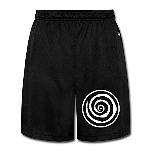 Nubia Conscious Creation Symbol Short Sport Gym Pants For Men's Black Size M