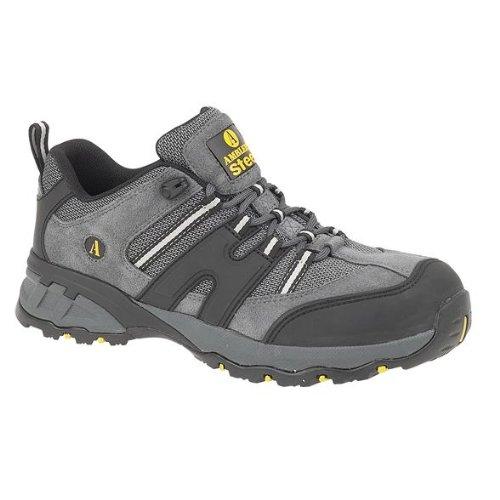 New Herren Amblers Steel FS188N Sicherheit Schuhe Herren Leder Stiefel Trainer Schuhe