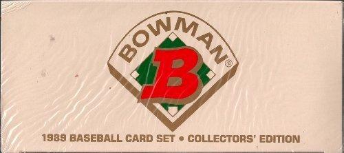 Topps 1989 Bowman Tiffany Baseball Factory Sealed Complet...
