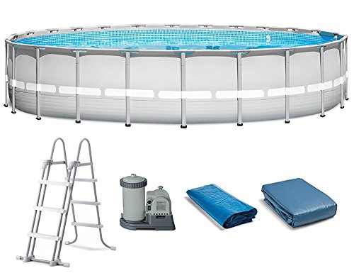 Intex 22' x 52'' Ultra Frame Above Ground Pool Set 2500 GPH Filter Pump | 28341WL by Intex