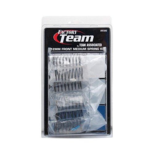 Team Associated 91342 12mm Front Medium Spring Kit (3-Pair)