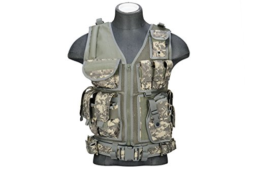 Lancer Tactical Cross Draw Tactical Vest (ACU)