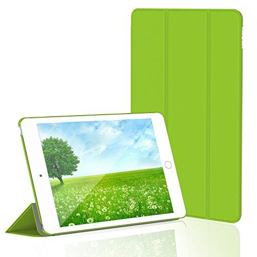 iPad Mini 4 Hülle, JETech Ultra Slim iPad Mini 4 Hülle Schutzhülle Etui Tasche mit Eingebautem Magnet für Einschlaf/Aufwach für Apple New iPad Mini 4 Veröffentlicht am 2015 Smart Case Cover (Grün) - 3282