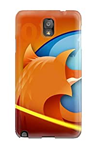 New Style Faddish Firefox Safer Better Faster Case Cover For Galaxy Note 3 4174795K81583896
