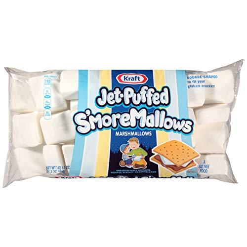 - Jet-Puffed S'moreMallows Marshmallows, 17.5 oz Bag