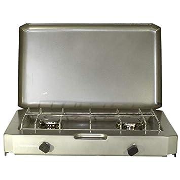 Plaque de cuisson FT 200. Rechaud camping gaz 2 feux pour bouteille de gaz  13 98a8ed5cd839