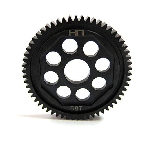 58t Spur Gear (Hot Racing SOFE858 Steel 58T 48P Spur Gear - 1/14 Losi Vaterra)