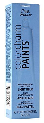 Wella Color Charm Paints Tube Light Blue 2 Ounce (59ml) (3 Pack)