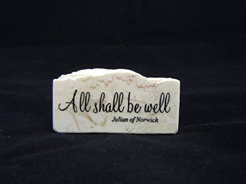 All Shall be Well (Julian of Norwich) - Promise Stone