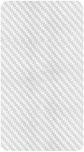 غطاء خلفي شفاف من الألياف الكربونية المضادة لبصمات الأصابع من كمبيسير، لهاتف شاومي A2 / مي 6X