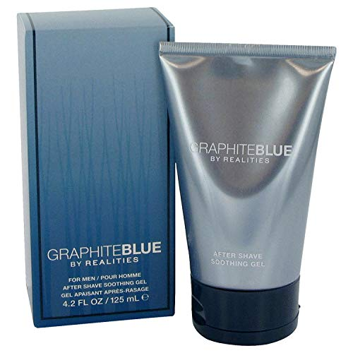 Graphite Blue By Realities - REALITIES GRAPHITE BLUE by Liz Claiborne for MEN: AFTERSHAVE SOOTHER GEL 4.2 OZ