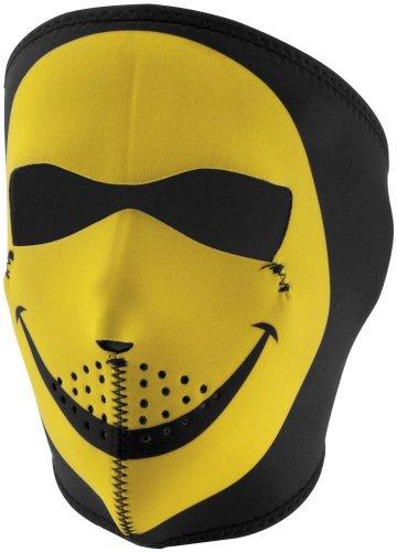 2014 Zan Headgear Smiley Face Full Neoprene Mask - Adult